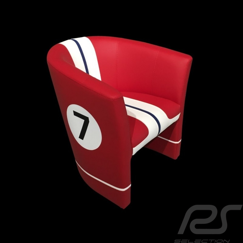 Fauteuil cabriolet Tub chair  Tubstuhl Racing Inside n° 7 512FLM71 chair Cabrio Stuhl