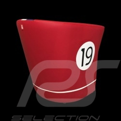 Tub chair Racing Inside n° 19 red / white / blue / black GTOLM62