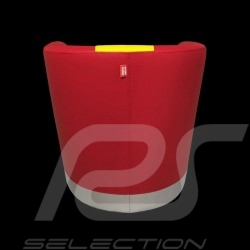 Fauteuil cabriolet Tub chair Tubstuhl  Racing Inside n° 10 rouge / jaune / gris 512MLM71