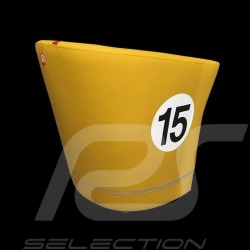 Tub chair Racing Inside n° 15 yellow / red / grey 512MLM71