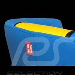 Fauteuil cabriolet Tub chair Tubstuhl Racing Inside n° 112 bleu / jaune / noir GTOTF64