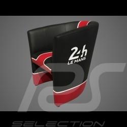 Fauteuil cabriolet Racing Inside 24H Le Mans noir / rouge / blanc chair Cabrio Stuhl