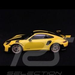 Porsche 911 GT2 RS type 991 Weissach Package jaune / noir 1/43 Spark WAP0201520J yellow / black gelb / schwarz