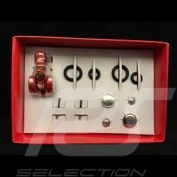 Tractor Porsche Junior red 1958 self montage kit 1/87 Schuco 450558700