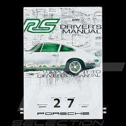 Calendrier perpétuel Perpetuel calendar Unendliches Drehkalendarium Porsche 911 Carrera RS 2.7 Porsche Design WAP0920200H