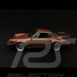 Porsche 911 Turbo 3.3 type 930 1977 brun brown braun 1/43 Minichamps 940069001