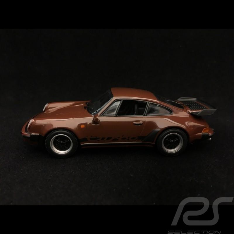 Porsche 911 Turbo 3.3 type 930 1977 braun 1/43 Minichamps 940069001