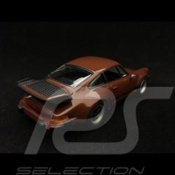 Porsche 911 Turbo 3.3 type 930 1977 brown 1/43 Minichamps 940069001