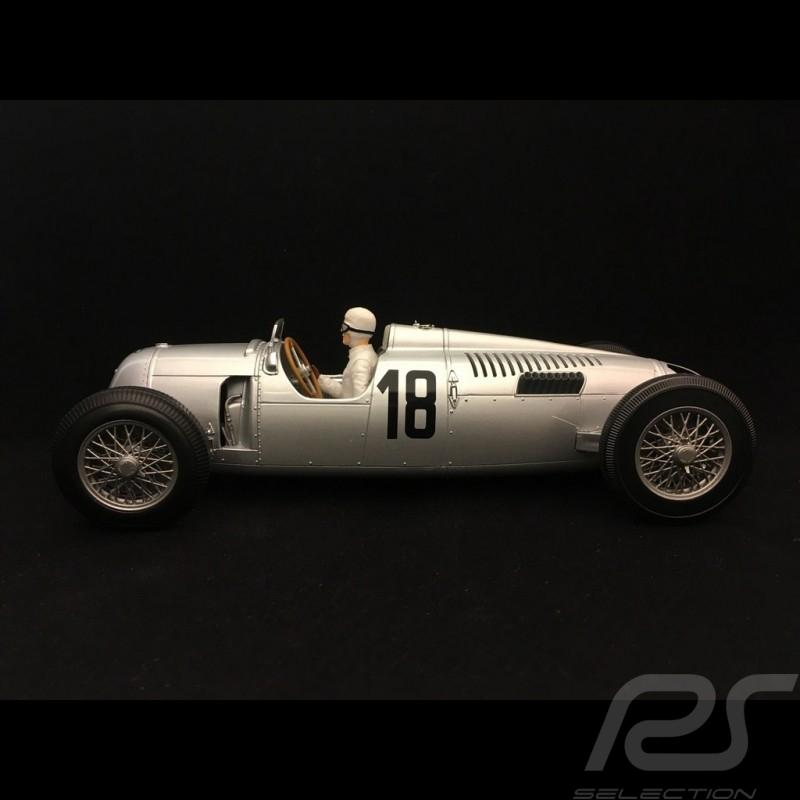 Auto Union Typ C n° 18 vainqueur winner Sieger Eifelrennen 1936 Rosemeyer 1/18 Minichamps 155361018
