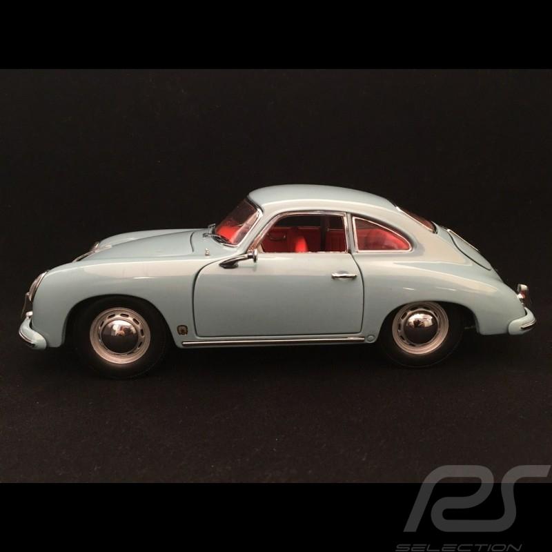 Porsche 356 A Carrera GT 1500 GS 1957 bleue blue blau Meissen 1/18 Sunstar 1329