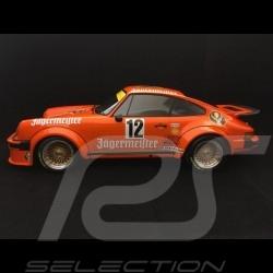 Porsche 934 n° 12 vainqueur winner sieger DRM Eifelrennen 1976 Jagermeister 1/12 Minichamps 125766412