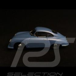 Porsche 356 Gmünd Coupé 1949 bleu moyen mild blue mittel blau 1/43 Minichamps 400065121