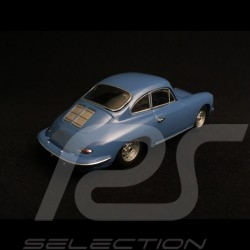 Porsche 356 C Carrera 2 1963 bleu émail 1/43 Minichamps 430062364