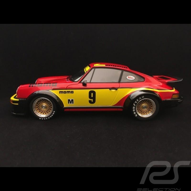 Porsche 934 Sieger 6h Silverstone 1977 n° 9 Momo 1/18 Minichamps 155776409