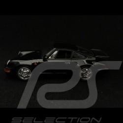 Porsche 911 Turbo type 964 1990 schwarz 1/43 Minichamps 940069101