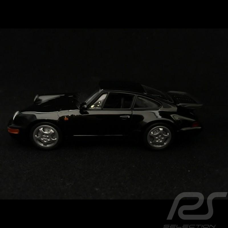 Porsche 911 Turbo type 964 1990 black 1/43 Minichamps 940069101