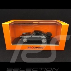 Porsche 911 Turbo type 964 965 1990 noire black schwarz 1/43 Minichamps 940069101