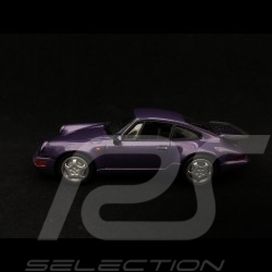 Porsche 911 Turbo type 964 / 965 1990 violet purple violett 1/43 Minichamps 940069100
