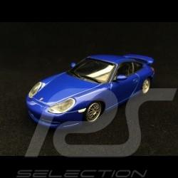 Porsche 911 GT3 type 996 ph 1 1999 bleu Sauber 1/43 Minichamps 430068002