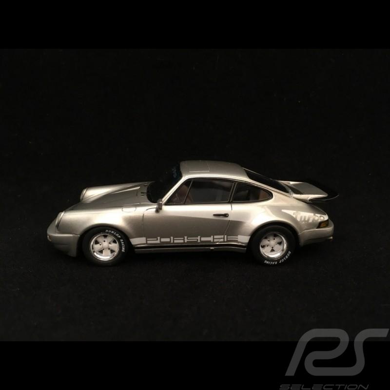 Porsche 911 3.0 Turbo type 930 1974 gris argent et bandes turbo silver grey silbergrau stripes streifen1/43 Spark S2068