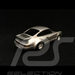 Porsche 911 3.0 Turbo type 930 1974 silbergrau mit turbo Streifen 1/43 Spark S2068