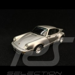 Porsche 911 3.0 Turbo type 930 1974 silver grey with turbo stripes 1/43 Spark S2068