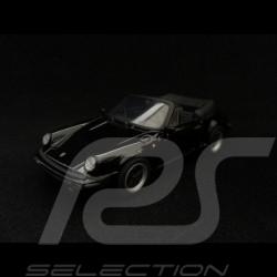 Porsche 911 3.0 SC type 930 Carrera Cabriolet 1983 noire black schwarz 1/43 Minichamps 430062034