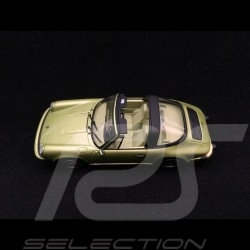 Porsche 911 2.7 Targa 1977 vert chartreuse green lindgtrün métallisé 1/43 Minichamps 400061261