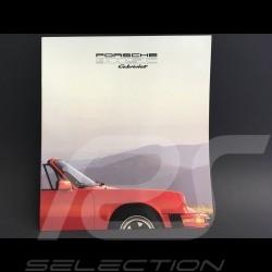 Porsche Brochure 911 SC Cabriolet in english