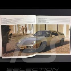 Porsche Broschüre 928 S in Englisch 1982