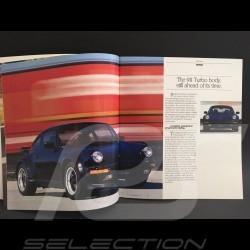 Porsche Broschüre 911 3.3 turbo in Englisch 1986