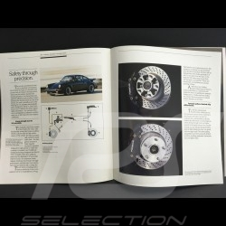 Porsche Brochure 911 3.3 turbo in english 1986