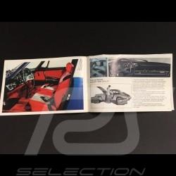 Brochure Porsche gamme 1969 en anglais - Fact book