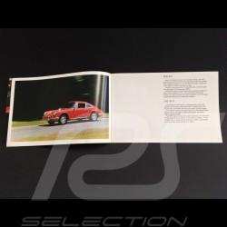 Porsche Brochure 1969 range in english - Fact book