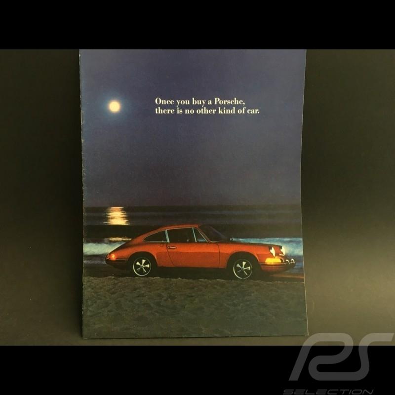 Porsche Brochure Porsche  Range 1972 in english