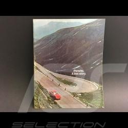 Brochure Porsche Gamme Porsche 1970 en anglais