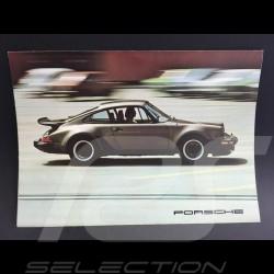 Brochure Porsche Gamme Porsche 1976 anglais english Englisch