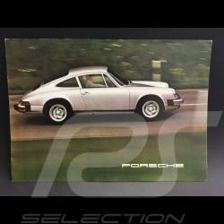 Porsche Brochure Porsche Range 1975 in english