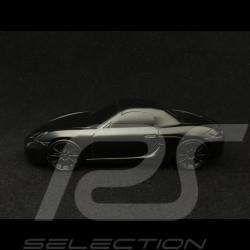 Sculpture Porsche Boxster 981 1/43 Porsche Design WMAB1401000100 noir satiné black schwarz satin Skulptur