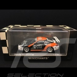 Porsche 911 GT3 Cup type 997 Carrera Cup Asia 2007 n° 19 Noble Group 1/43 Minichamps 400076419