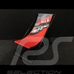 Chaise longue Porsche 911 R Porsche Design WAX05000001 rouge Lounge chair red Liegestuhl rot