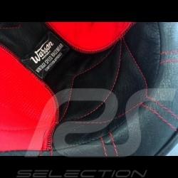 Helmet Jo Siffert 1968 replica n° 5 / 100 red white stripes swiss flag with visor