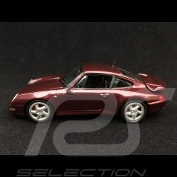 Porsche 911 type 993 Turbo 1993 arena red metallic 1/43 Minichamps 940069200