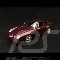 Porsche 911 typ 993 Turbo 1993 arena rot metallic 1/43 Minichamps 940069200