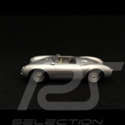 Porsche 550 spyder 1955 silver grey metallic 1/43 Minichamps 940066030