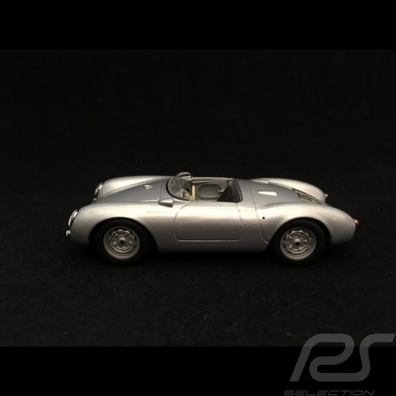 Porsche 550 spyder 1955 1/43 Minichamps 940066030 gris argent métallisé silver grey metallic silbergrau metallic