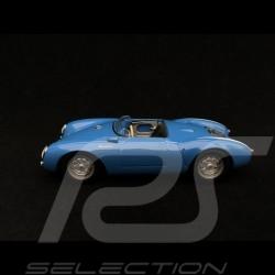 Porsche 550 spyder 1955   1/43 Minichamps 940066031 bleu bandes blanches blue with white stripes blau mit weiße Streifen