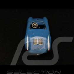 Porsche 550 spyder 1955 blue with white stripes 1/43 Minichamps 940066031
