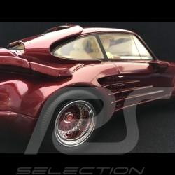 Porsche 911 Turbo Gemballa Avalanche 1986 1/18 BOS BOS306 rouge arena métallisé arena red metallic arenarot