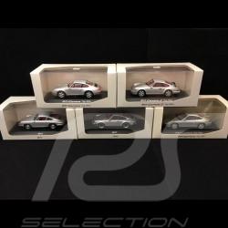 Set Porsche 911 Coupé Série Histoire 1/43 Minichamps WAP020SET01